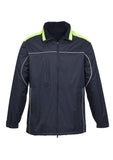 Navy/Fluoro Lime Mens Reactor Jacket For Sale