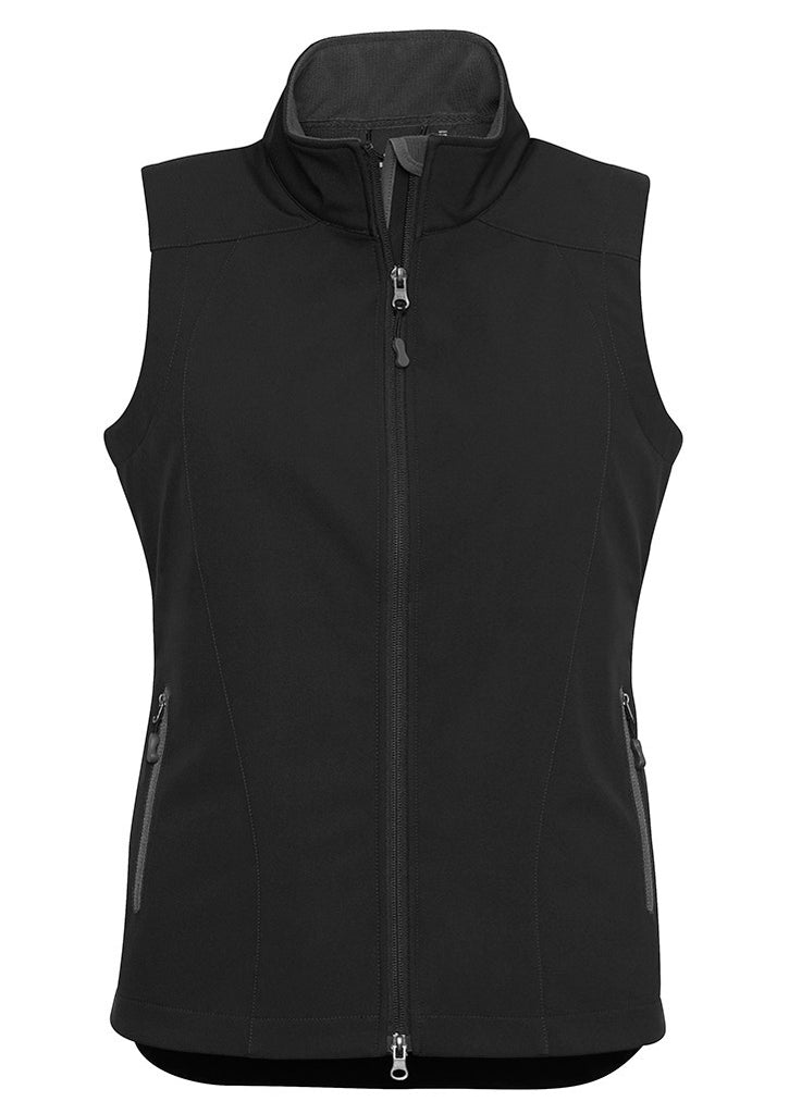 Black/Graphite Ladies Geneva Vest Supplier