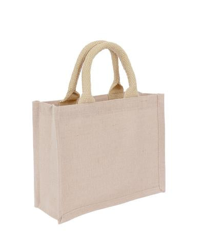 Jute + Cotton Premium Small Bag Plain