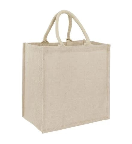 Jute Grocery Bag - Plain Bag