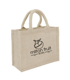 Jute Hessian Bag Laminated Small JT With Logo