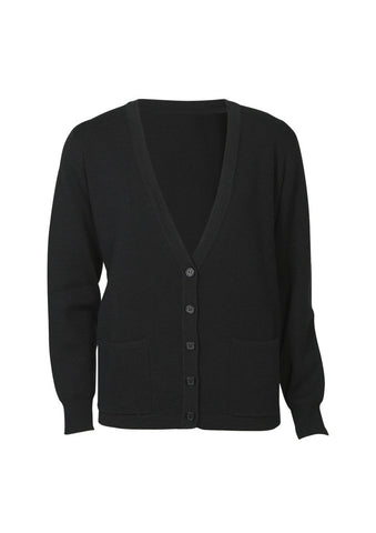 Ladies Woolmix Cardigan BCLC8008