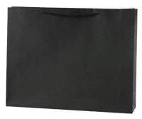 Black Matte Paper Bag - Large btq LLBBM