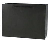 Black Matte Paper Bag - Small btq LSBM