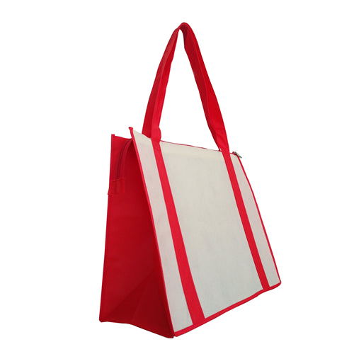 5286c263079a6b Non Woven Large Zipped Shopping Bag NWB017 – Promotions247