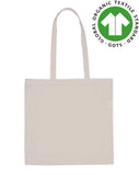 Organic Cotton Calico Bag - Flat Bag ORG-CTN-FLAT