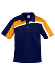 Navy/Gold/White Mens Velocity Polo In Stock