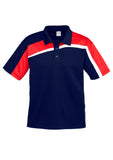 Navy/Red/White Mens Velocity Polo In Stock