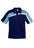 Navy/Spring Blue/White Mens Velocity Polo In Stock