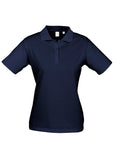 Navy Ladies Ice Polo Supplier