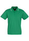 Emerald/White/Black Personalised Mens Cambridge Polo