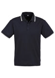 Navy/White/White Personalised Mens Cambridge Polo
