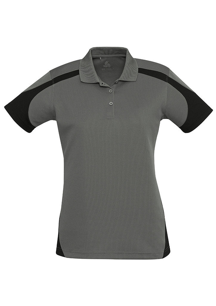 Ash/Black Ladies Talon Polo Wholesale