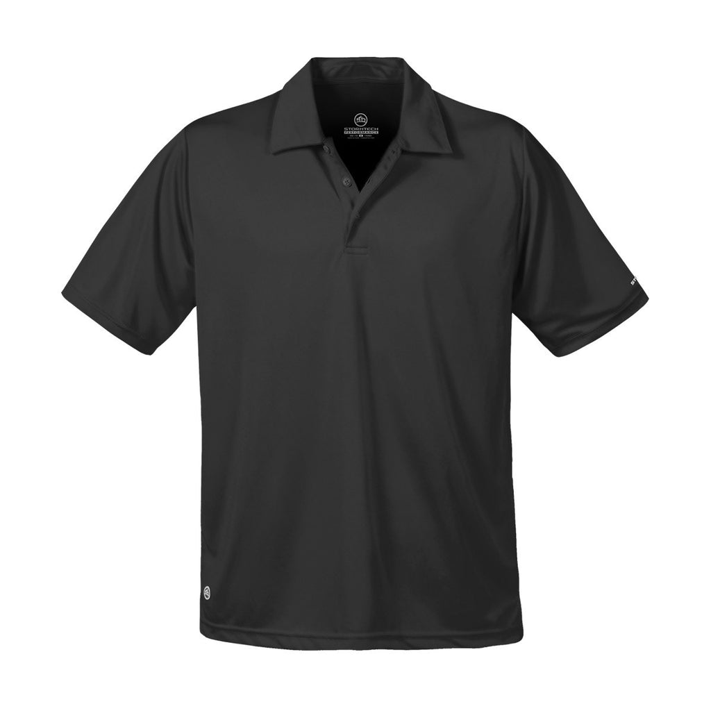 Black Promo Men's H2X-Dry Polo