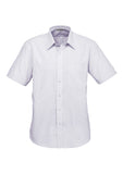 Grape Mens Signature Short Sleeve Shirt With Logo