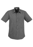 Graphite Mens Signature Short Sleeve Shirt With Logo