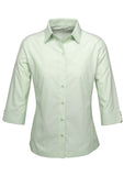 Green Ladies Ambassador 3/4 Sleeve Shirt Wholesale