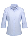 Light Blue Ladies Ambassador 3/4 Sleeve Shirt Wholesale