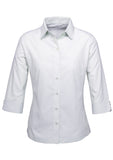 Silver grey Ladies Ambassador 3/4 Sleeve Shirt Wholesale