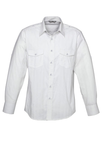 Mens Brooklyn Roll-Up Long Sleeve Shirt BCS29610