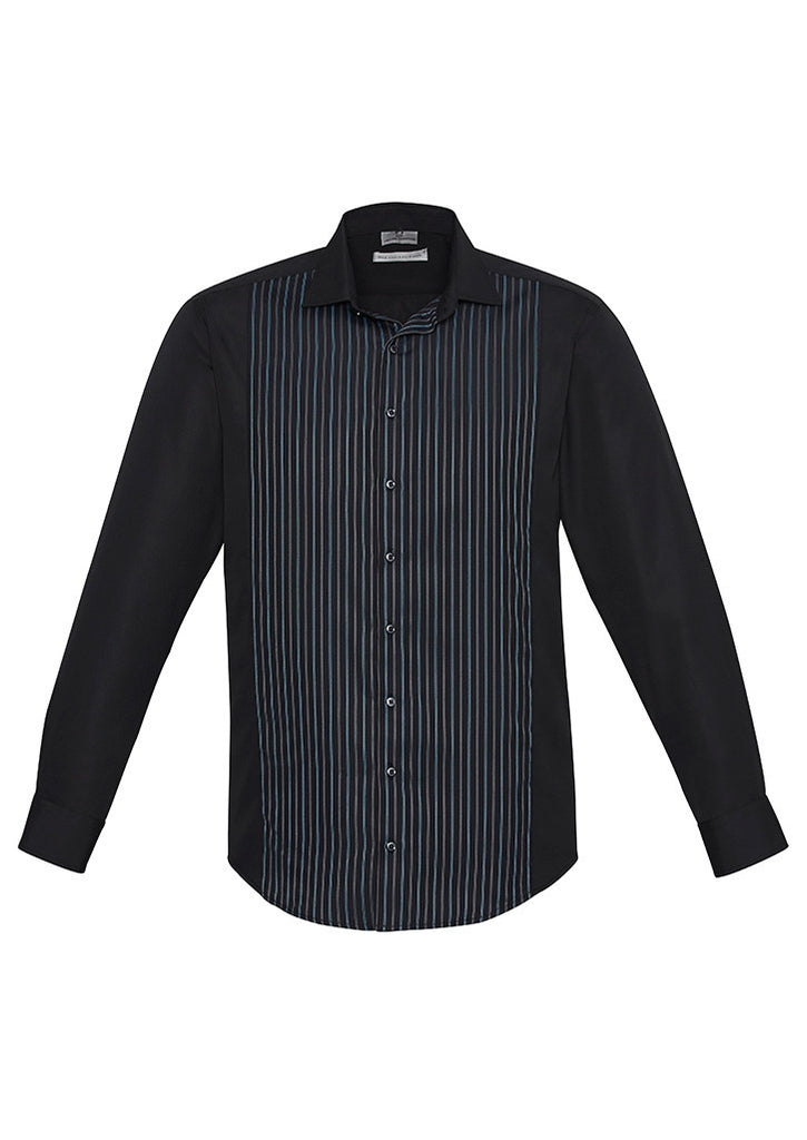 Mens Reno Panel Long Sleeve Shirt BCS414ML