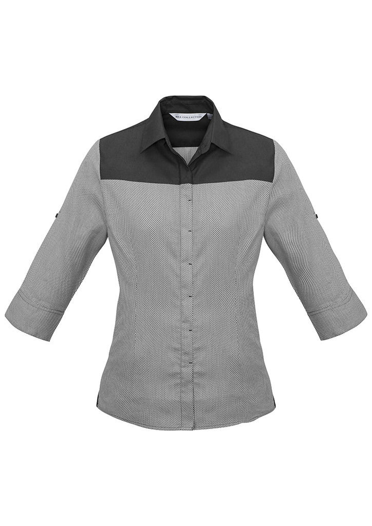 Ladies Havana 3/4 Sleeve Shirt BCS503LT