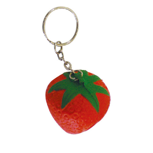 STRESS STRAWBERRY KEY RING SKR000