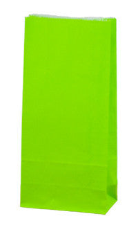 Carnival Gift Paper Bag - Loud Lime Coloured SOSLL