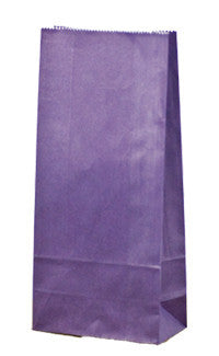 Carnival Gift Paper Bag - Passion Purple Coloured SOSPP