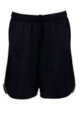 Black/White Branded Mens Sonic Shorts