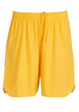 Gold/White Branded Mens Sonic Shorts