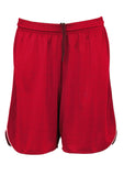Red/White Branded Mens Sonic Shorts
