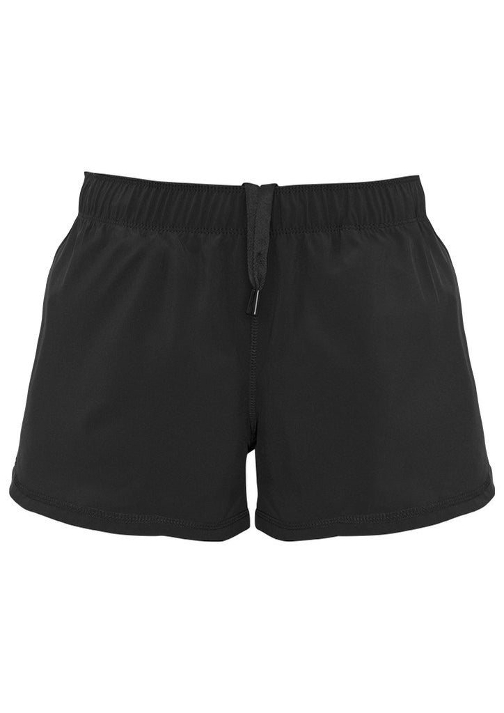 Black Promotional Ladies Tactic Shorts