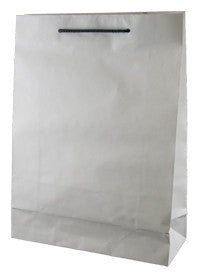 Deluxe White Kraft Paper Bag - Small W1R