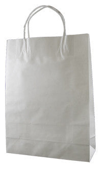 White Kraft Paper Bag - Small W1