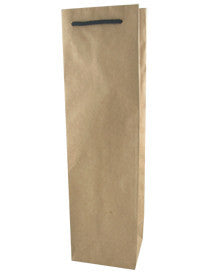 Paper Wine Bag - Plain Single WBP