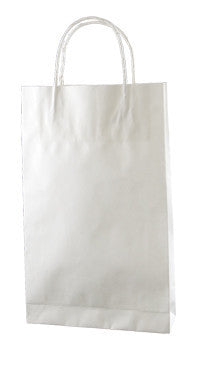 White Kraft Paper Bag - Baby WB