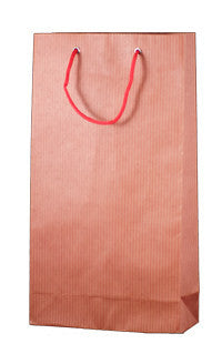 Striped Wine Bag - Red Double WDRE