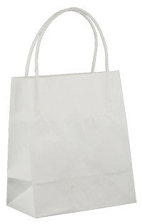White Kraft Paper Bag - Toddler WT