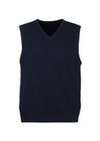 Navy Promotional Mens 80/20 Wool-Rich Vest