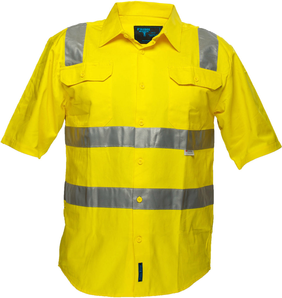Hi Vis Cotton Drill Shirt - WW1902