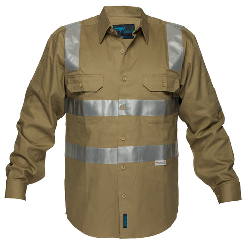 Cotton Drill Shirt - WW908