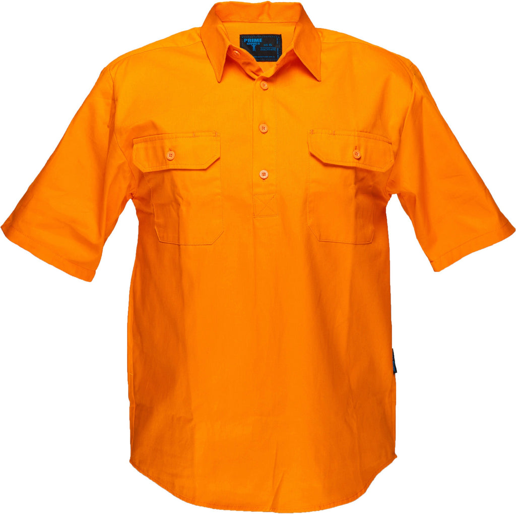 Buy Hi Vis Cotton Drill Shirt