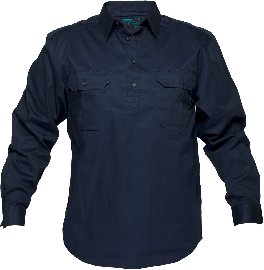 Cotton Drill Shirt - WWL903C