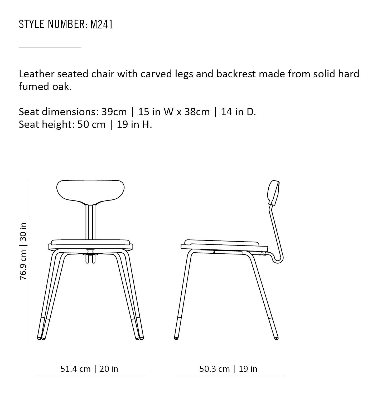 DAYTON DINING CHAIR – District Eight