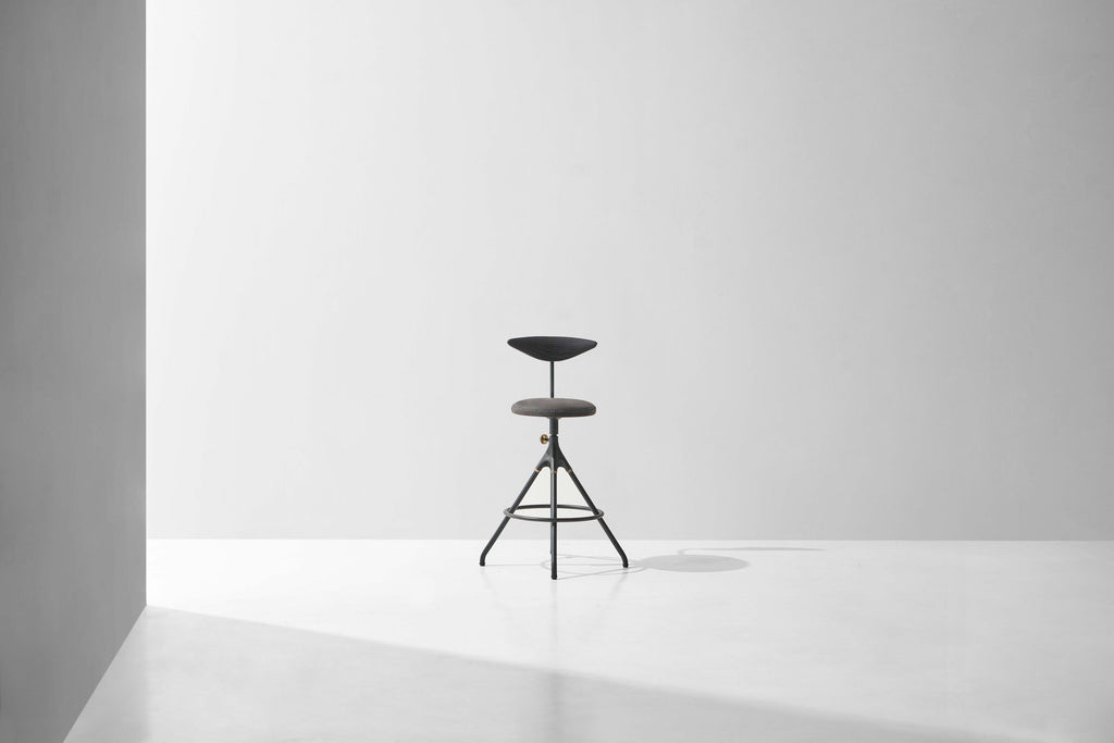 Akron Counter Stool With Backrest