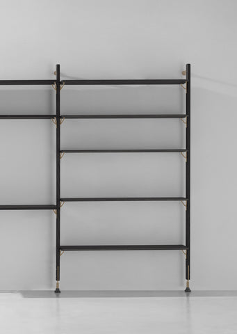 Theo Wall Unit With Large Shelves