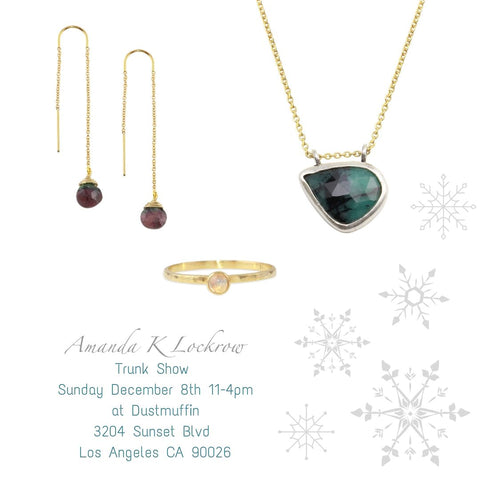 trunk show at Dustmuffin
