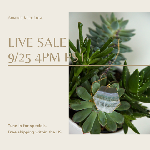 instagram live sale