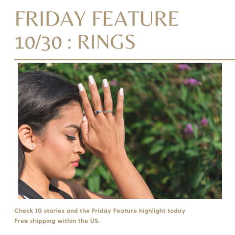 this week's friday feature on instagram features rings